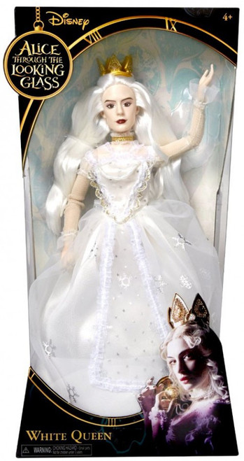 Disney Alice Through the Looking Glass White Queen 11-Inch Doll
