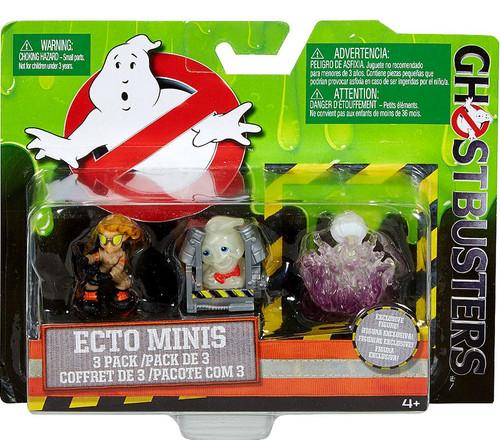 Ghostbusters 2016 Movie Ecto Minis Jillian, Rowan in Trap & Gertrude 2-Inch Mini Figure 3-Pack