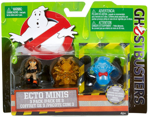 Ghostbusters 2016 Movie Ecto Minis Erin, Insect Ghost & Rowan 2-Inch Mini Figure 3-Pack