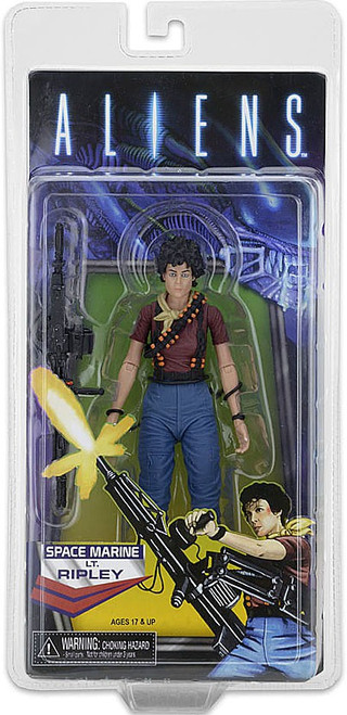 NECA Alien Space Marine Lt. Ellen Ripley Exclusive Action Figure