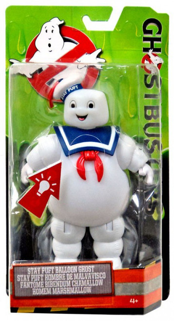 Ghostbusters 2016 Movie Stay Puft Balloon Ghost Action Figure