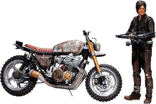 McFarlane Toys The Walking Dead AMC TV Daryl Dixon & New Bike Deluxe Action Figure Set