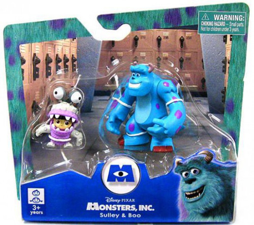 Disney / Pixar Monsters Inc Sulley & Boo 2-Inch Mini Figure 2-Pack [Damaged Package]