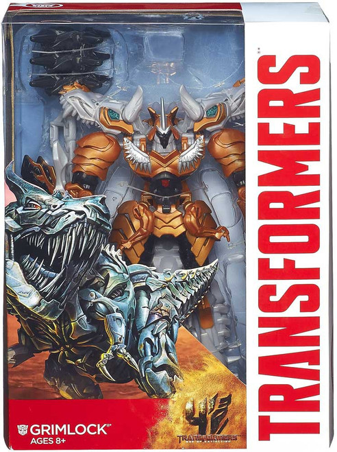 Transformers Age of Extinction Generations Grimlock Voyager Action Figure [Voyager, Damaged Package]