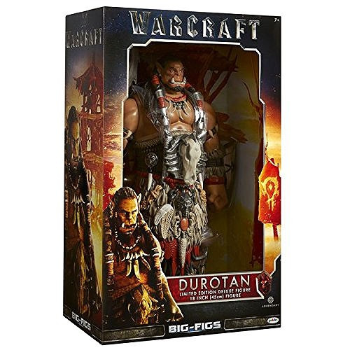 World of Warcraft Durotan Exclusive 18-Inch Deluxe Figure [Damaged Package]