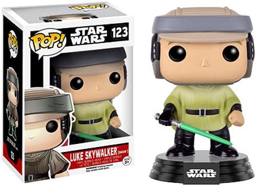 Funko POP! Star Wars Luke Skywalker (Endor) Vinyl Bobble Head #123