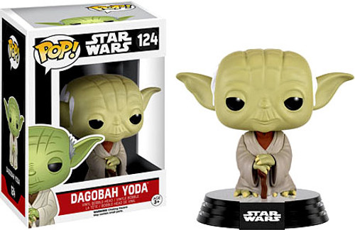 Funko POP! Star Wars Dagobah Yoda Vinyl Bobble Head #124