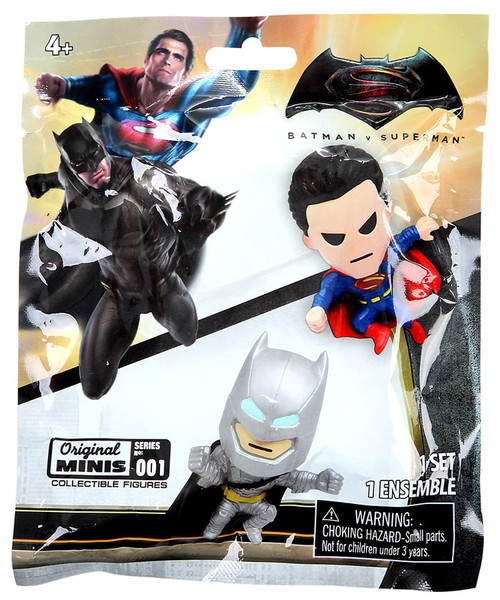 DC Batman v Superman: Dawn of Justice Original Minis Series 1 Mini Figure Mystery Pack
