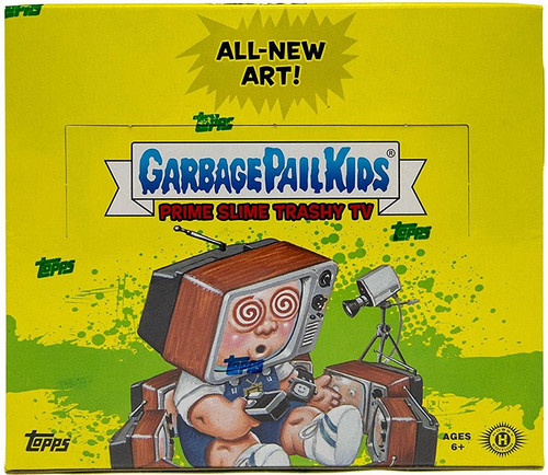 Garbage Pail Kids Topps 2016 Prime Slime Trashy TV Trading Sticker Card HOBBY Box