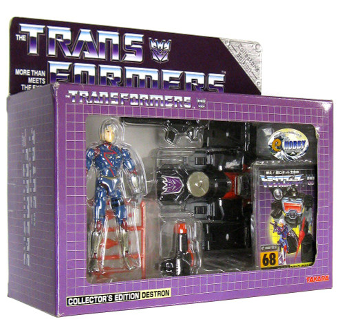 Transformers Japanese Collector's Edition Destron Magnificus (Diaclone Perceptor) Exclusive Action Figure #68 [Damaged Package]