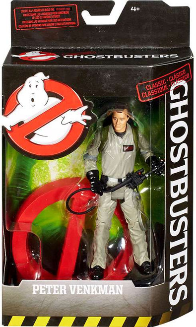 Ghostbusters Classic Peter Venkman Action Figure [Build the No-Ghost Logo]