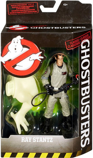 Ghostbusters Classic Ray Stantz Action Figure [Build the No-Ghost Logo]