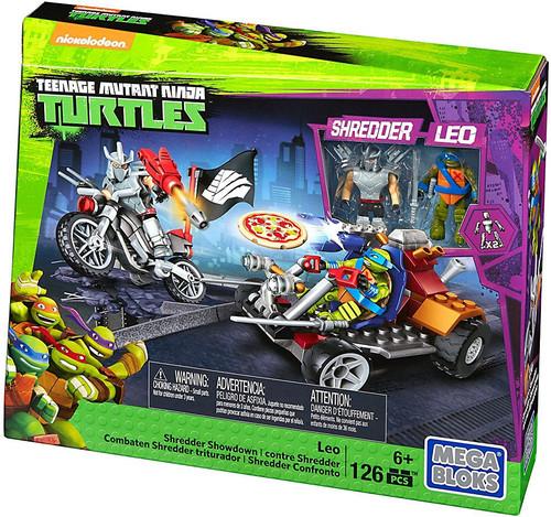 Mega Bloks Teenage Mutant Ninja Turtles Animation Leo Shredder Showdown Set #32713