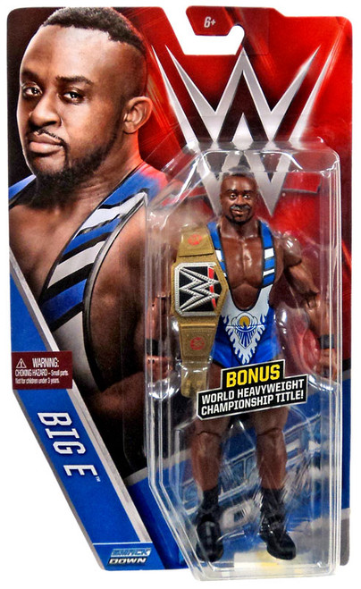 WWE Wrestling Series 61 Big E Action Figure [World Heavyweight Championship Title!]
