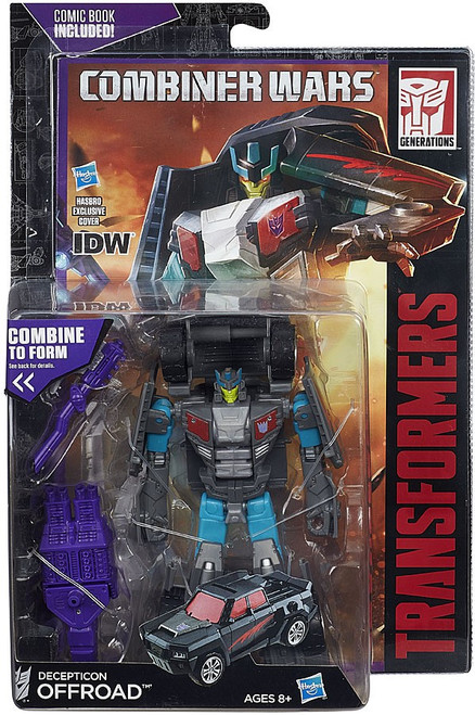Transformers Generations Combiner Wars Decepticon Offroad Deluxe Action Figure [Stunticon, Damaged Package]