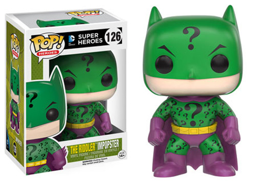 Funko DC POP! Heroes The RIddler Impopster Vinyl Figure #126 [Batman]