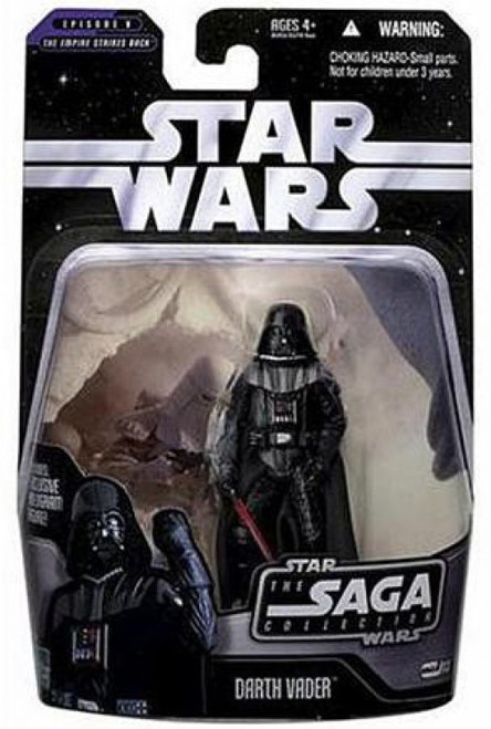 Star Wars The Empire Strikes Back 2006 Saga Collection Darth Vader Action Figure #13 [Hoth]