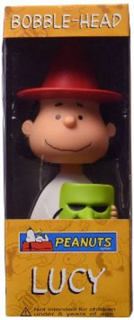 Funko Peanuts Wacky Wobbler Great Pumpkin Lucy Bobble Head