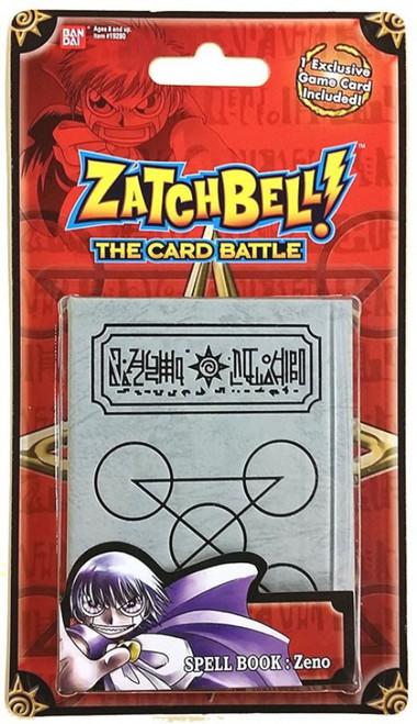 Zatch Bell Card Battle Game Zeno's Grey Spell Book