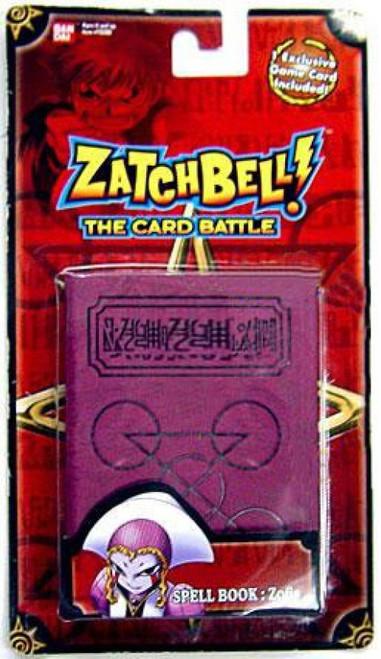Zatch Bell Card Battle Game Zofis' Magenta Spell Book