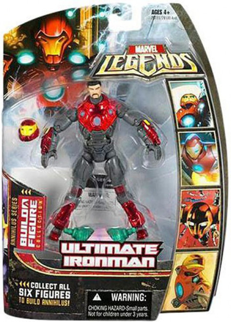 Marvel Legends Annihilus Series Ultimate Iron Man Action Figure [Helmet Off]