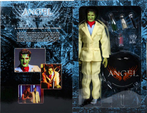 Buffy The Vampire Slayer Angel Lorne Exclusive Deluxe Action Figure [The Host]