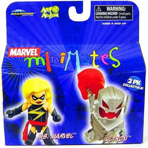 Minimates Series 19 Ultron & Ms. Marvel Minifigure 2-Pack