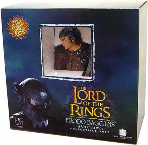 The Lord of the Rings The Return of the King Frodo Baggins Mini Bust [In Mordor Orc Disguise]