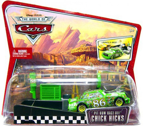Disney / Pixar Cars The World of Cars Pit Row Race-Off Chick Hicks Diecast Car #86