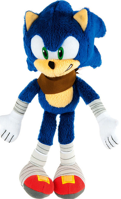 Sonic The Hedgehog Sonic Boom Sonic 8-Inch Plush [Showing Teeth]