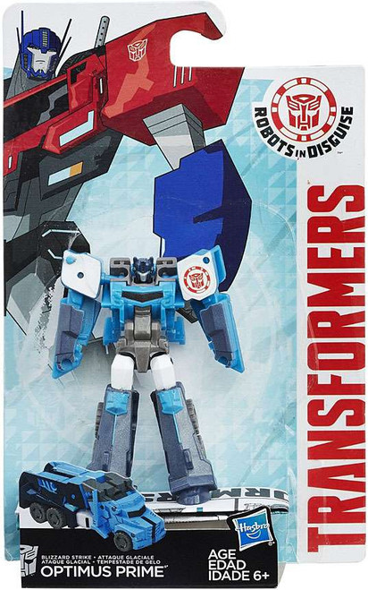 Transformers Robots in Disguise Blizzard Strike Optimus Prime Legion Action Figure