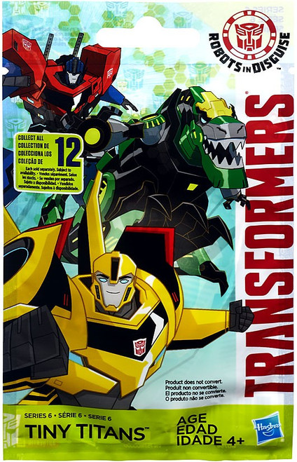 Transformers Robots in Disguise Tiny Titans Series 6 Mystery Pack