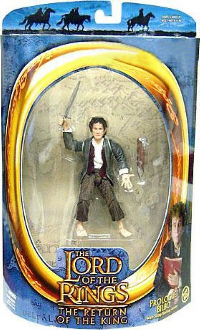 The Lord of the Rings The Return of the King Bilbo Baggins Action Figure [Prologue]