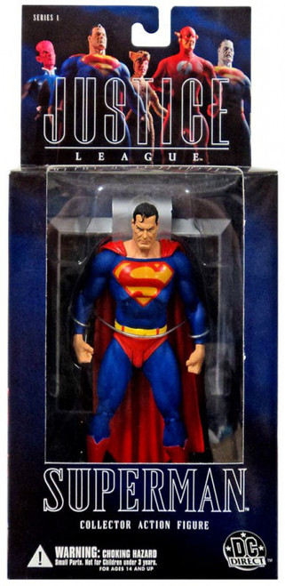 DC Alex Ross Justice League Series 1 Superman Action Figure