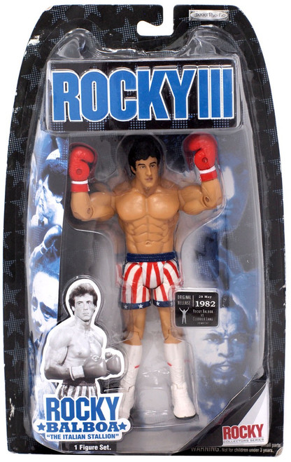 Rocky III Series 3 Rocky Action Figure [Fight Gear]