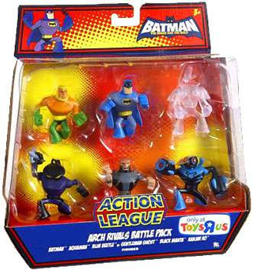 Batman Brave and the Bold Exclusive Mini Figure Set