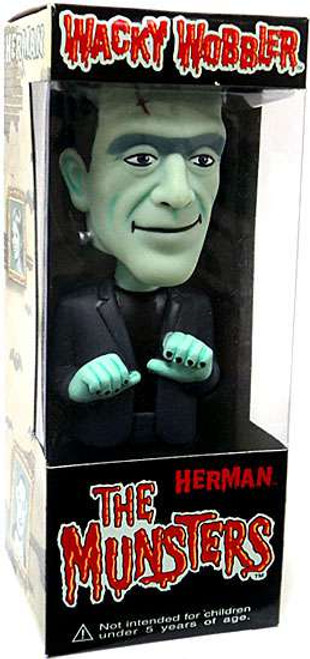 Funko The Munsters Wacky Wobbler Herman Munster Bobble Head