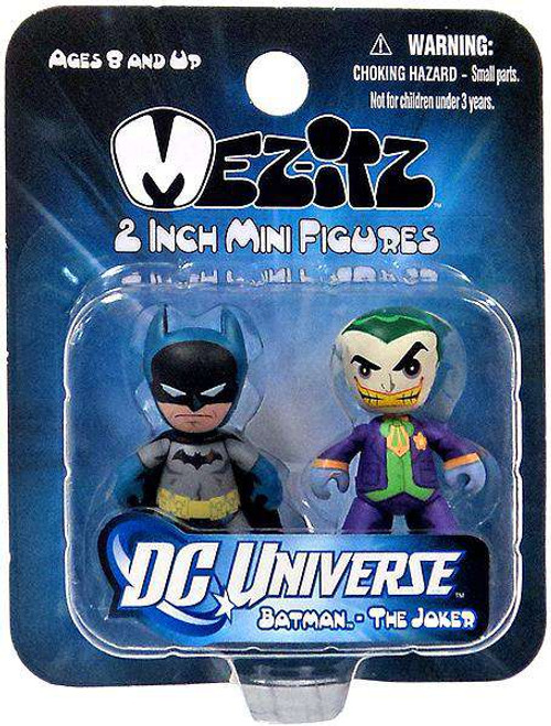 Mini Mez-Itz Series 1 Batman & The Joker 2-Inch Vinyl Figure 2-Pack