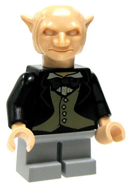 LEGO Harry Potter Gringotts Goblin Minifigure [Black Jacket & Gray Trousers Loose]
