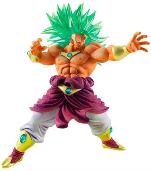 Dragon Ball Kai Hybrid Grade Super Saiyan 3 Broly Exclusive 6.6-Inch Figure