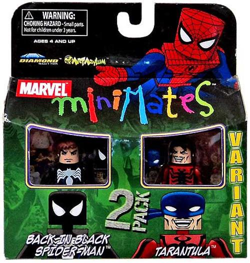 Marvel Minimates Series 27 Back in Black Spider-Man & Tarantula Minifigure 2-Pack [Variant]