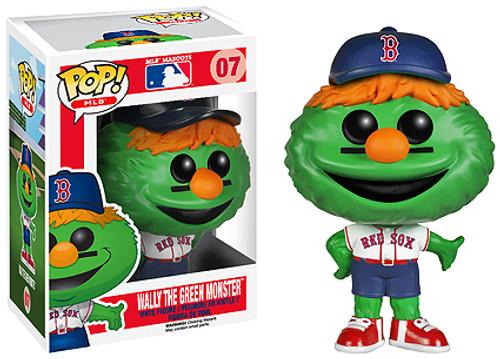 Funko MLB Boston Red Sox POP! Sports Baseball Wally the Green Monster Vinyl Figure #7 [Mascot]