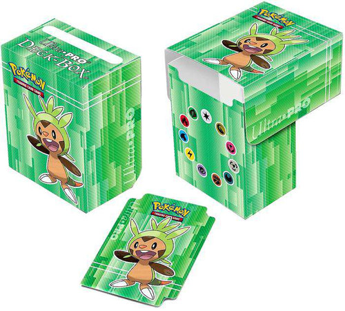 Ultra Pro Pokemon Trading Card Game XY Chespin Deck Box