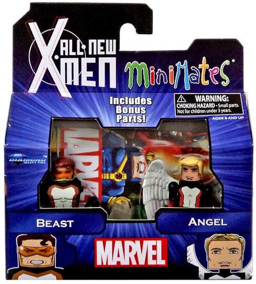 Marvel All New X-Men Minimates Series 59 Beast & Angel Minifigure 2-Pack