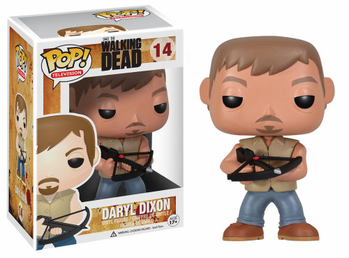 Funko The Walking Dead POP! TV Daryl Dixon Vinyl Figure #14 [Damaged Package]