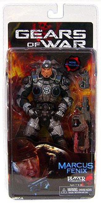 NECA Gears of War Series 2 Marcus Fenix Action Figure [Damaged Package]
