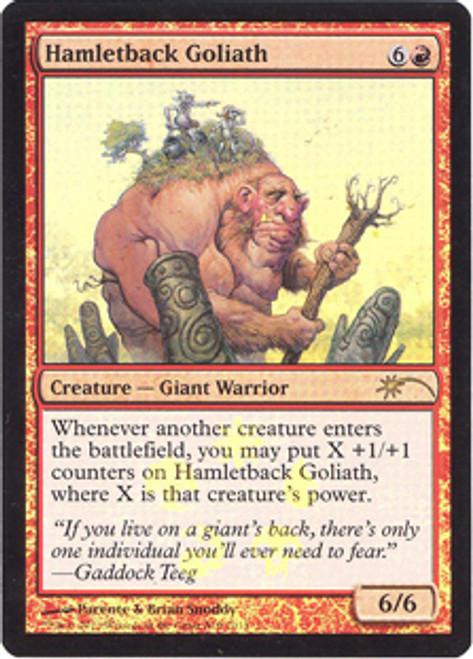MtG Assorted Promo Cards Promo Foil Hamletback Goliath