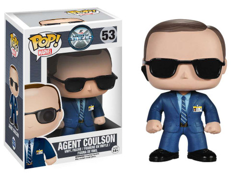 Funko Agents of S.H.I.E.L.D POP! Marvel Agent Coulson Vinyl Figure #53 [Damaged Package]