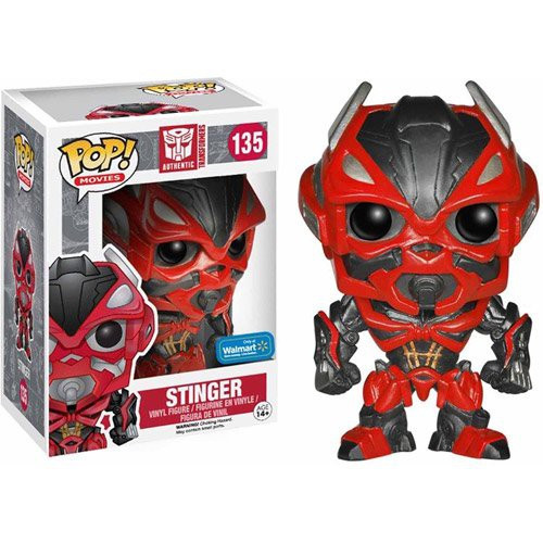 Funko Transformers Age of Extinction POP! Movies Stinger Exclusive Vinyl Figure #135 [Damaged Package]