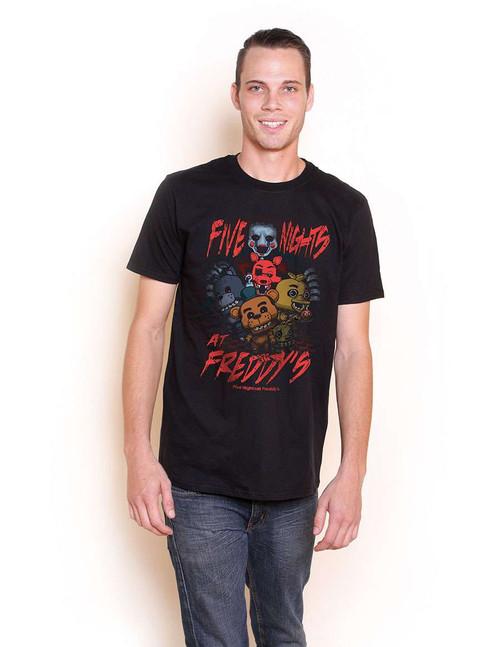 Funko Five Nights at Freddy's FNAF Group T-Shirt [Youth Medium]